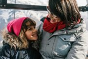 Ride up to Sulphur Mountain summit in a comfortable gondola cabin at the Banff Gondola