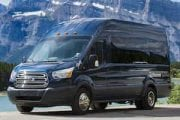 Take a group private transfer in a comfortable van with Discover Banff Tours