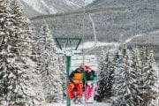 Take a sightseeing chairlift at Mt Norquay in the Canadian Rockies