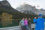 Visit Emerald Lake on the Discover Grizzly Bears Tour with Discover Banff Tours in the Canadian Rockies