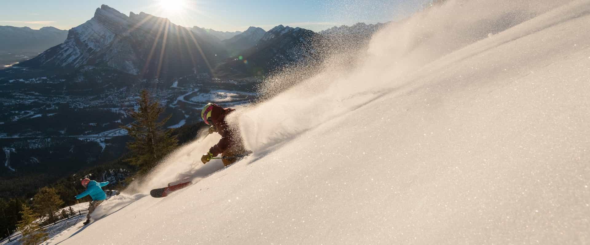 Ski at Banff Mt Norquay