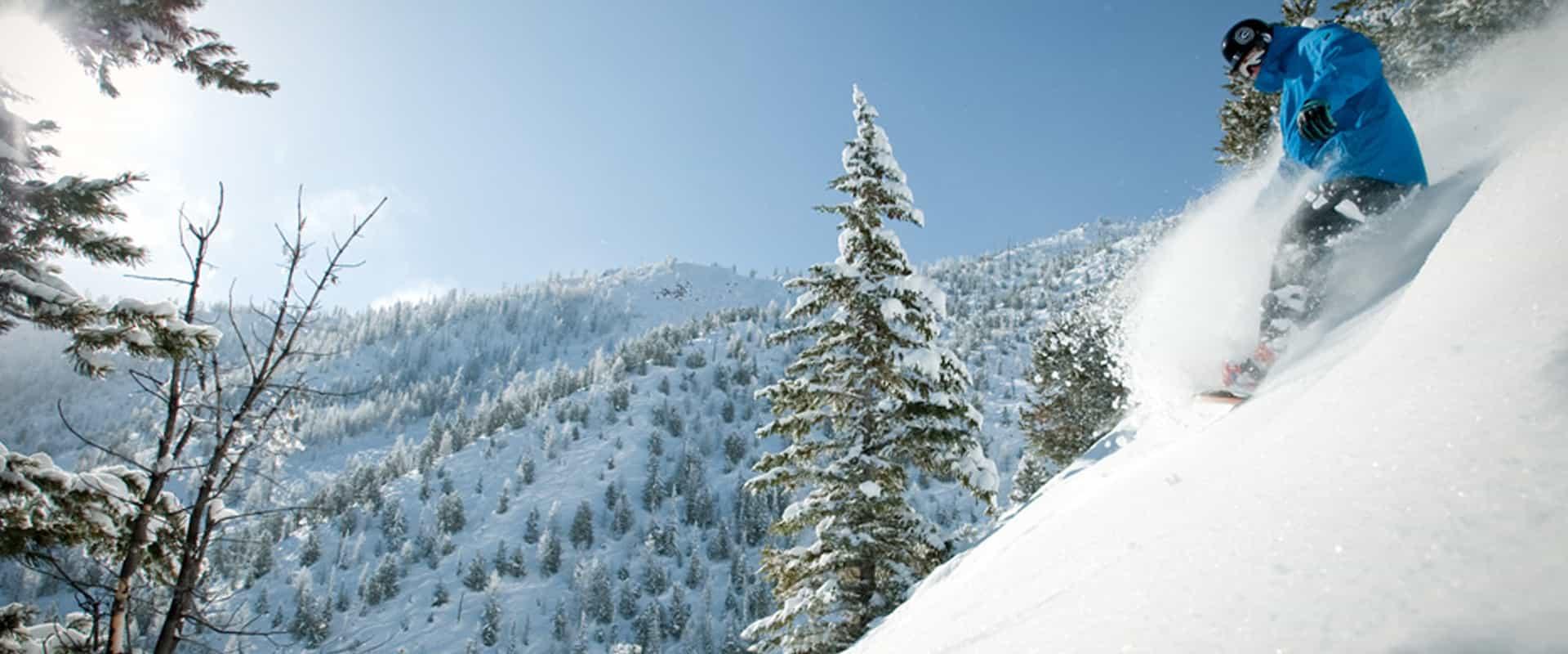 Snowboard at Panorama Mountain Resort