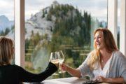 Dine at the Banff Gondola's Sky Bistro