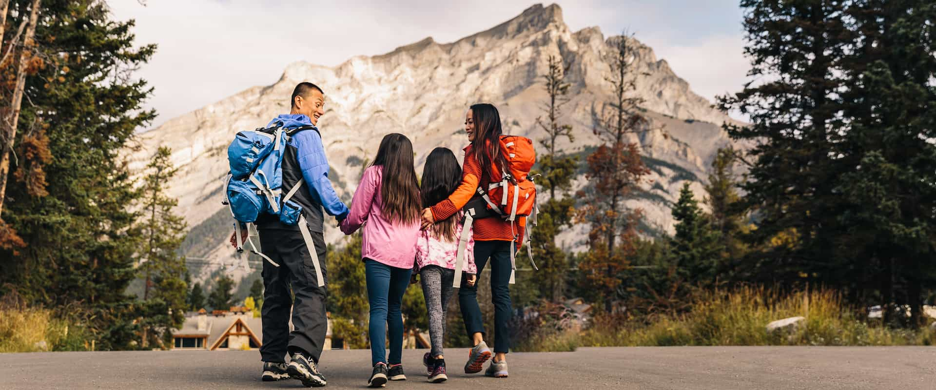 There's lots to do for families with children in Banff