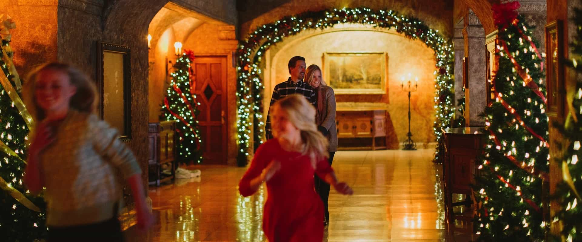 Celebrate Christmas at the Fairmont Banff Springs Hotel