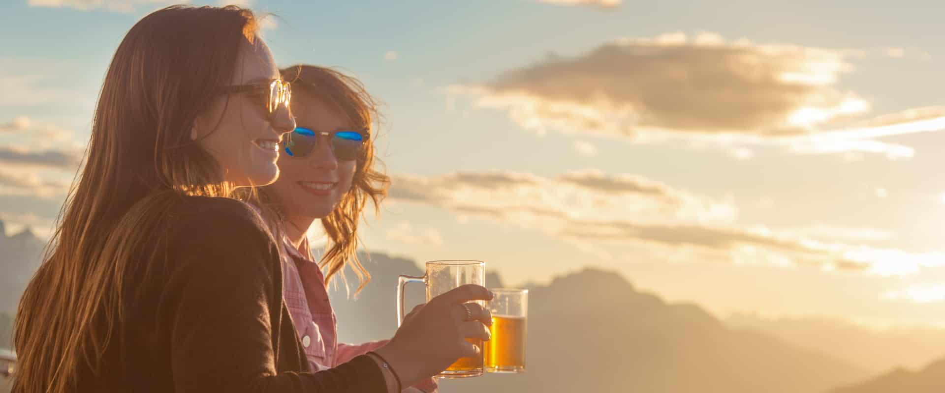 Sunset Festival at the Banff Gondola