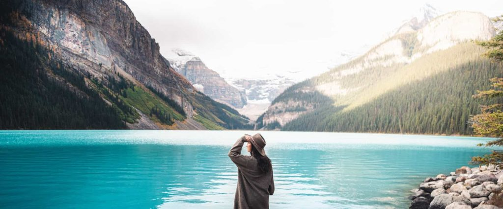 See Lake Louise in Fall with Discover Banff Tours