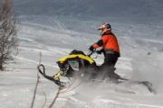 Powder X advanced snowmobiling tour
