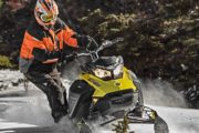 Powder X high performance snowmobiling tour