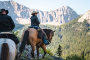 Ride to Allenby Pass on a backcountry vacation