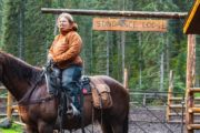 Saddle up at the Sundance Lodge Corral