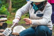 Your friendly guide will prepare delicious lunches on a backcountry vacation