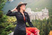 Banff Springs Hotel Instagram Photo at Surprise Corner