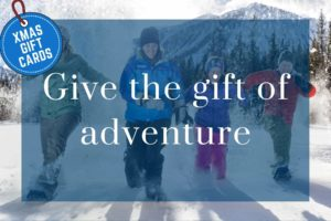DBT Gift Certificates gift of adventure