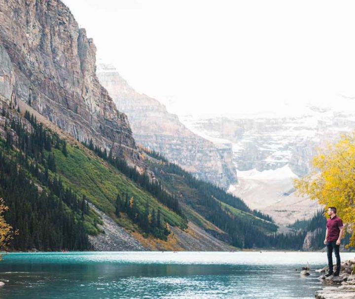 Lake Louise Instagram Photo