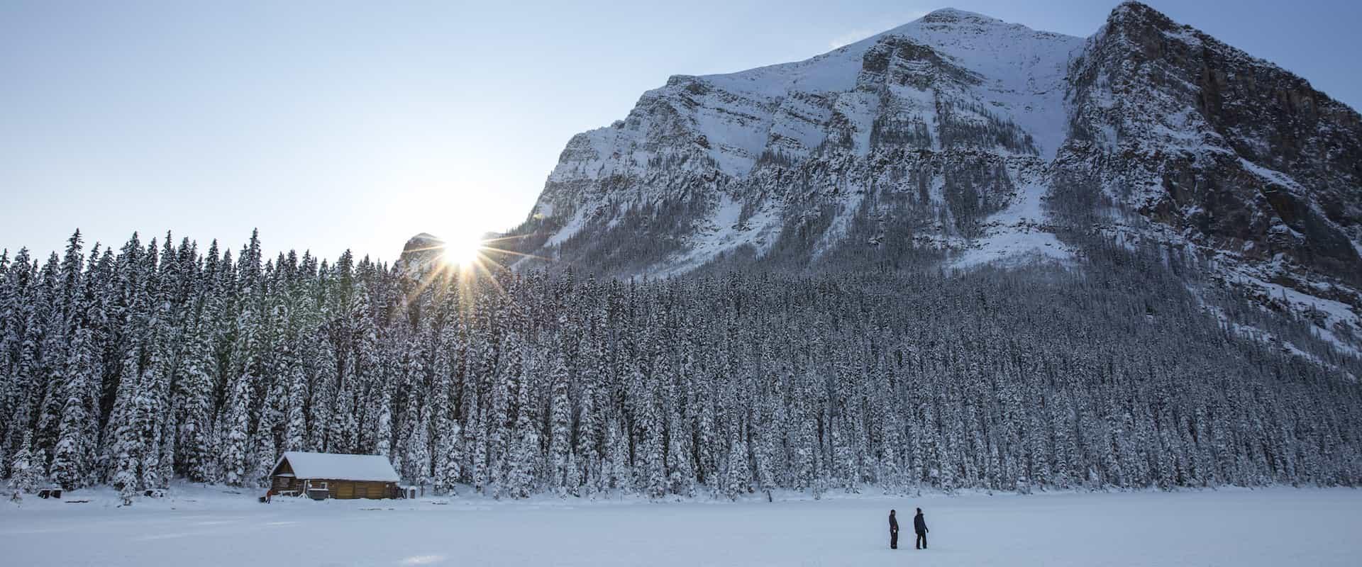 Visit Lake Louise in winter