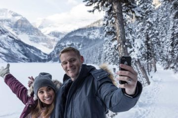 Lake Louise Winter Tour with Discover Banff Tours