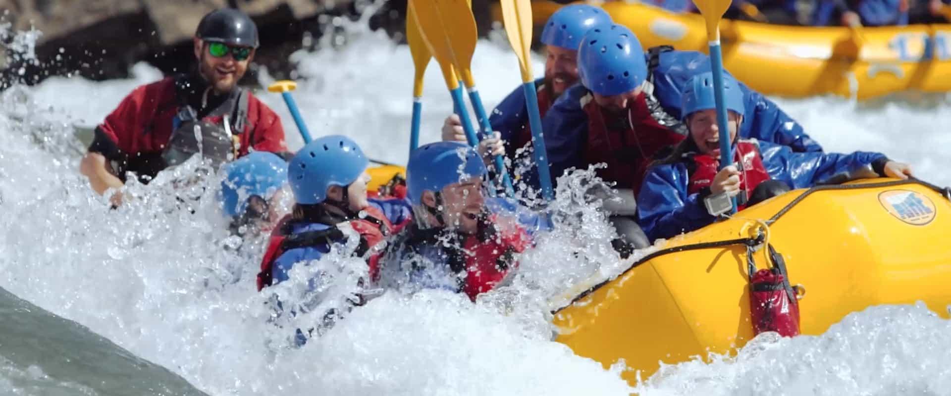 Horseshoe Canyon Raft + Horseback Ride