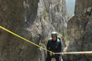 Ghost Canyon Intermediate Canyoning Tour in Banff
