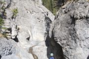 Canyoning Tour at Ghost Canyon in Banff