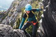 Climb Mt Norquay's via ferrata in Banff National Park