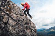 Climb a mountain on the Via Ferrata at Mt Norquay